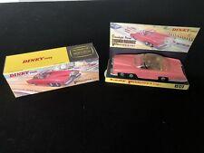 Mint Vintage Dinky 100 Fab 1 Thunderbirds Car