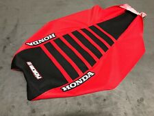 Honda TRX450R TRX 450 R Seat Cover 2004-2018 Red / Black / Red Ribs #197