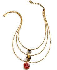 Ralph Lauren ENDLESS STONES Layered Chain Pendant Necklace $68 NEW