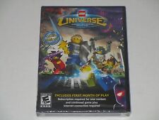 LEGO Universe Massively Multiplayer Online Game Win/Mac DVD-Rom **SEALED**