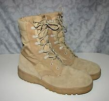 McRae ARMY Desert Combat Boots Mens 10 R TAN Military Hot Weather 8430