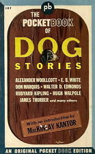 THE POCKET BOOK OF DOG STORIES. Pocket Book 187, 1942  PBO