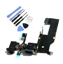 Black Headphone Dock Connector Charging Data USB Port Flex Cable iPhone 5 Tools
