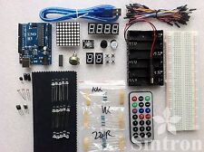 [Sintron] Uno R3 Board Starter Kit + Reference PDF Study Files for Arduino's IDE