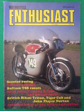 MOTORCYCLE ENTHUSIAST - SCOOTER RACING - March 1985 vol 4