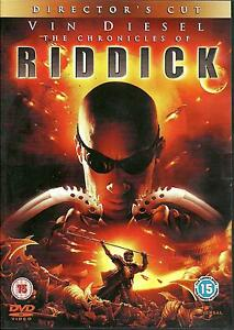 THE CHRONICLES OF RIDDICK - BRAND NEW 2 DVD SET - FREE UK POST