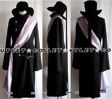 Black Butler Kuroshitsuji Undertaker Halloween Cosplay Costume Any Size