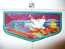 OA O Shot Caw Lodge 265 S18c, 2000,25 Hours Service Flap,DTQ Bd,South FL Council