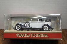 Matchbox Models of Yesteryear 1933 Cadillac 452 V16 Y-34B White, 1:43 NIB