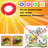 10pcs Anti Mosquito Bug Wrist Band Insect Nets Lock Camping Repellent Bracelet