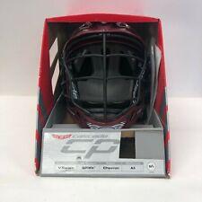 Cascade Cpv V Series Chevron Lacrosse Helmet Size - Size M/L Maroon Burgundy
