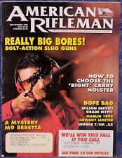 Magazine American Rifleman, SEP 1996 !MARLIN 1894 Cowboy Limited .45 Colt RIFLE!
