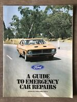 6/1974 Ford - A Guide to Emergency Repairs original Family Circle Reprint