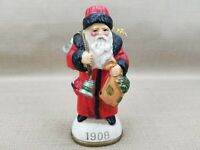 Santa Claus Father Christmas 1908 Ceramic Ornament 1985 Reproduction