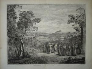 Bernard PICART (1673-1733) BELLE GRAVURE XVIII° TURQUIE TURC CONTANTINOPLE MORT
