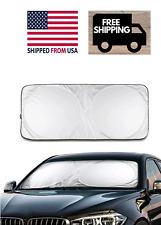 Foldable Front Rear Car Window Sun Shade Auto Visor Windshield Block UV Folding