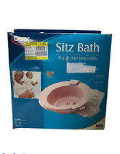 Carex Sitz Bath Fits Standard Toilets for Episiotomy Recovering, Etc. New