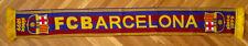 SCARF FC BARCELONA FOOTBALL SOCCER NEW