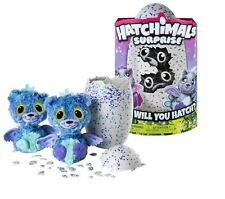 HATCHIMALS SURPRISE (Peacat) Purple Egg TWINS Playset