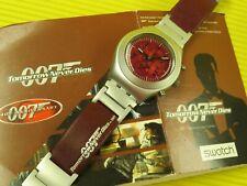 Swatch Special 007 JAMES BOND - TOMORROW NEVER DIES - YMS1006 - NEU mit Schuber