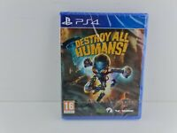 Playstation PS4 playstation 4 destroy all humans
