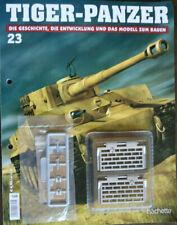 """6 **Hachette**Scale:1:16**Neu** /""""Tiger-Panzer zum selbstbauen***Ausg"""