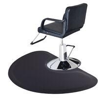 "5'x3' 1/2"" Thick Barber Salon Fatigue Floor Mat Beauty Supplier Semi Circle"