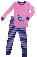 Kirkland Signature Girls 2-Piece pajama / pyjama set 100% Organic Cotton PJ's