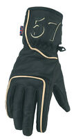 Spada Classic 57 Leather Motorcycle Gloves - Black/Brown