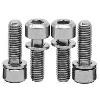 Titanium M10 x 50mm 1.25 Pitch Hex Taper Socket Cap Head Ti Bolts Screw 2//5//8pcs