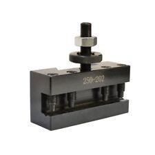 "#2 Lathe Facing Holder 10-15"" BXA Quick Change CNC Turning Tool Post 250-202"
