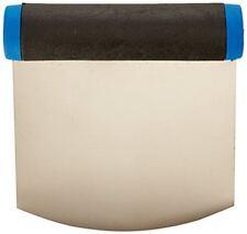 De Buyer 3302.12n Coupe-pâte arrondi Flexible Acier - 12 x 9 cm