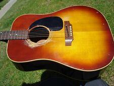 1967 Gibson J-45 Vintage Guitarra Acústica Brasileño Diapasón