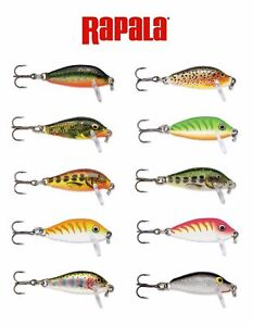 Rapala Countdown // CD01 // 2,5cm 2,7g Fishing Lures (Choice of Colors)