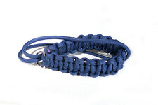 Navy Paracord Wrist Strap for DSLR Compact Cameras Fuji Canon Nikon Sony pentax