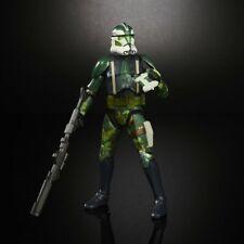 6 Inch Scale Clone Trooper Commander Gree Figure Black Series Star Wars ...LOOSE