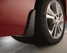 OEM 2017 Hyundai Elantra FRONT & REAR MUD GUARD SET (F3F46-AC000 & F3F46-AC100)