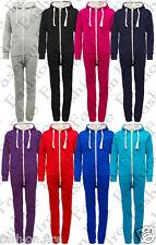 UNISEX Children Kids Boys Girls Plain O n e s i e Jumpsuit Pyjamas Playsuit Suit
