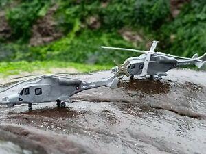 1/144 model Wildcat helicopter