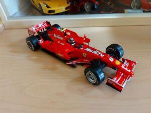 FERRARI F1 F2007 K. Raikkonen - Sponsor Marlboro Artigianale Base Hotwheels 1/18