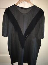Louis Vuitton Stephen Sprouse V T-Shirt Size XXL *Brand New* Black/Grey