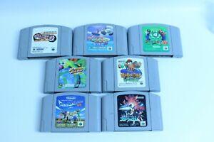 Nintendo 64 Lot of 7  retoro games N64 japanese version JAPAN 2