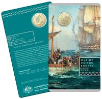 2019 $1 AlBr Uncirculated Coin - Mutiny and Rebellion - The Bounty