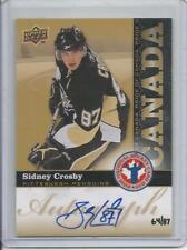 2009-10 Upper Deck Sidney Crosby Auto NHCD (Extremely Rare) 64/87 Mint
