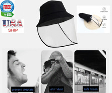 Mask Fisherman Full Face Safety Shield Reusable Hat Protecttion Anti Saliva Wash