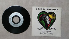 "VINYLE 45T 7"" SP MUSIQUE INT / STEVIE WONDER ""KEEP OUR LOVE ALIVE"" 1990 MOTOWN"