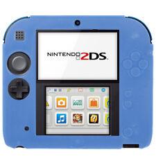 Nintendo 2 DS Housse étui silicone souple mat Housse De Protection Cover Couverture Anti-Chocs Bleu