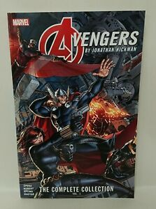 Avengers By Jonathan Hickman Complete Collection Vol 1 (2020) TPB Marvel New SC