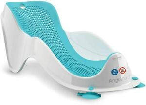 Angelcare SOFT TOUCH MINI Baby BATH SUPPORT - AQUA Baby Bathing Grooming BN