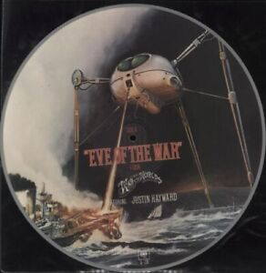 """Jeff Wayne – Eve Of The War. 12"""" Picture Disc (White Rim). Mint"""